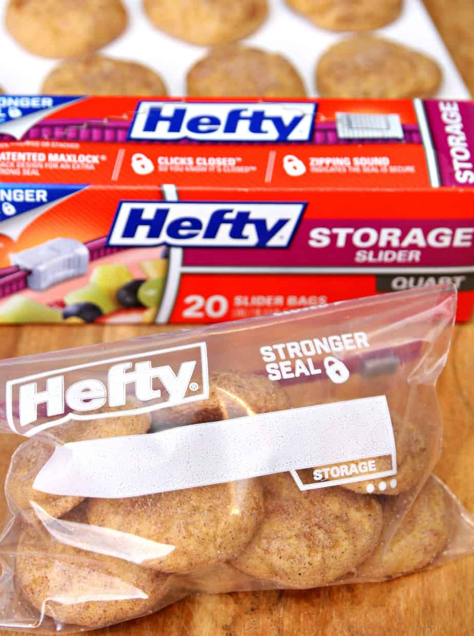 Hefty Storage Slider Bags