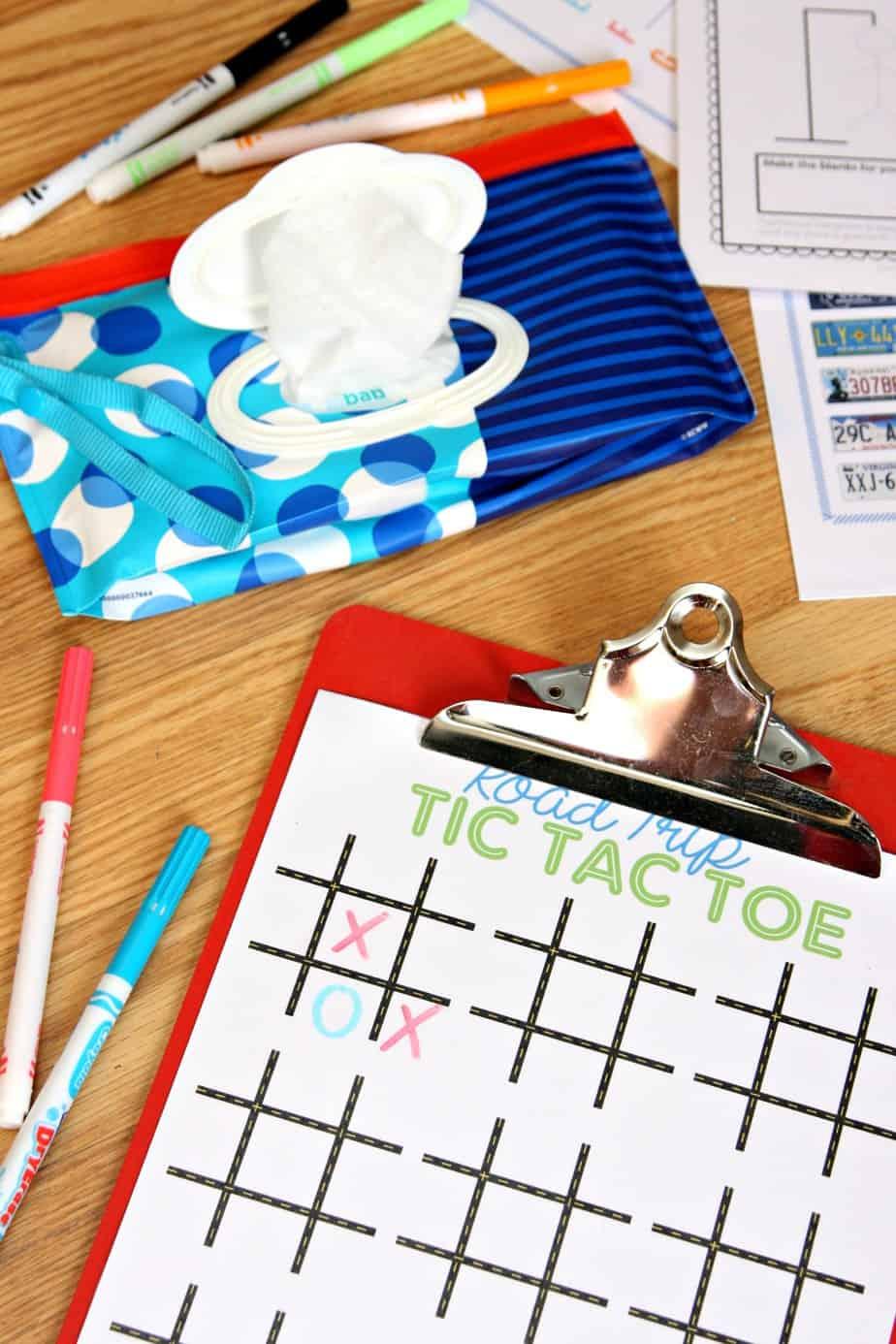 Road Trip Kit for Kids - Dry Erase Boards