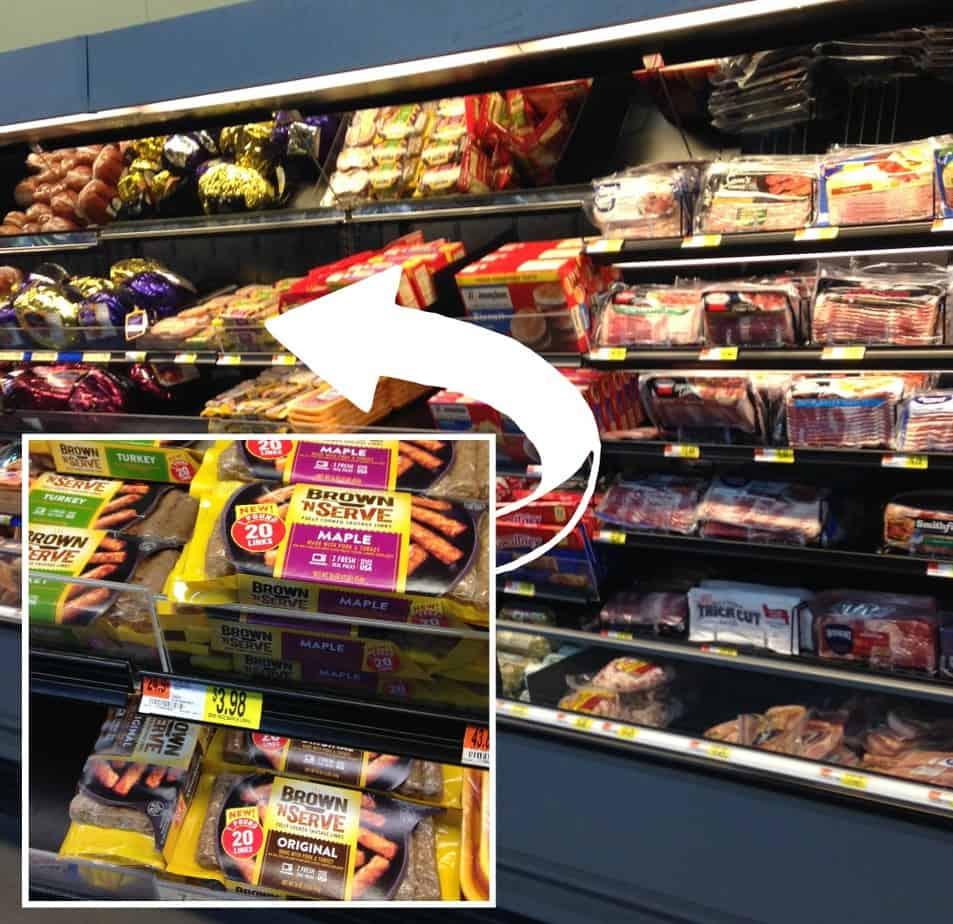 sausage Walmart