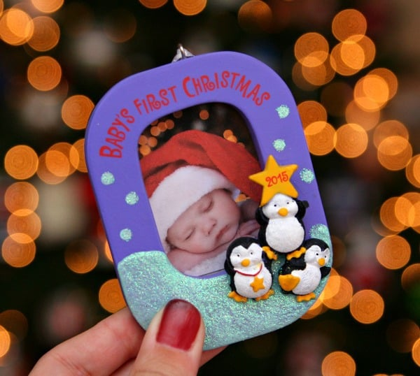 Baby's First Christmas Ornament #SendHallmark