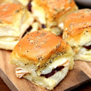 Baked Turkey Sliders with Craisins®