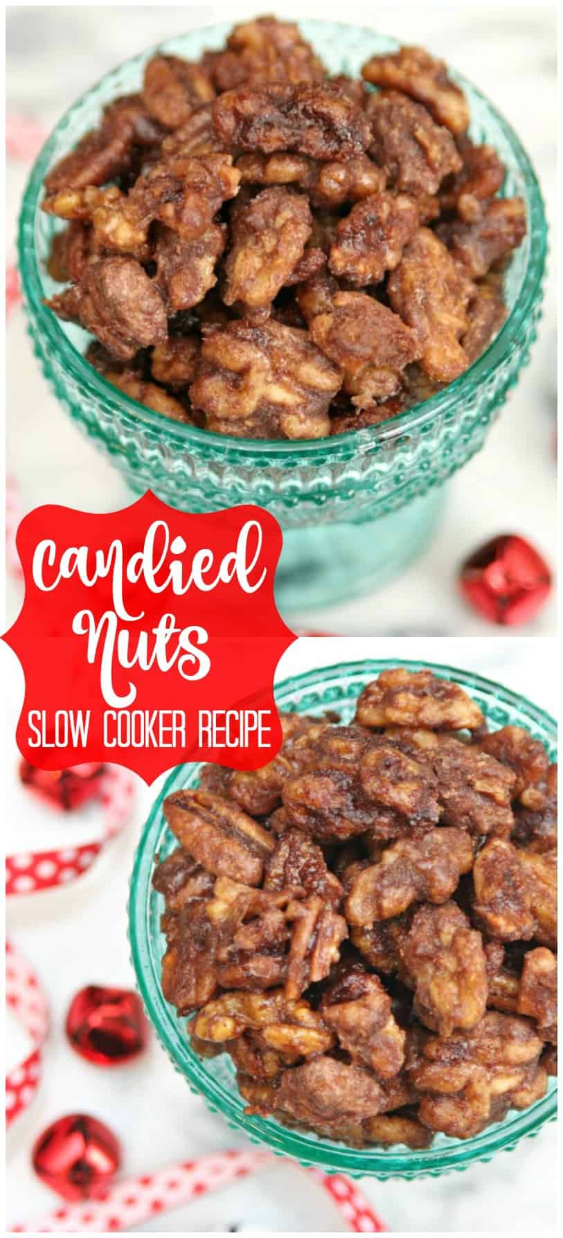 Candied Nuts Slow Cooker Recipe