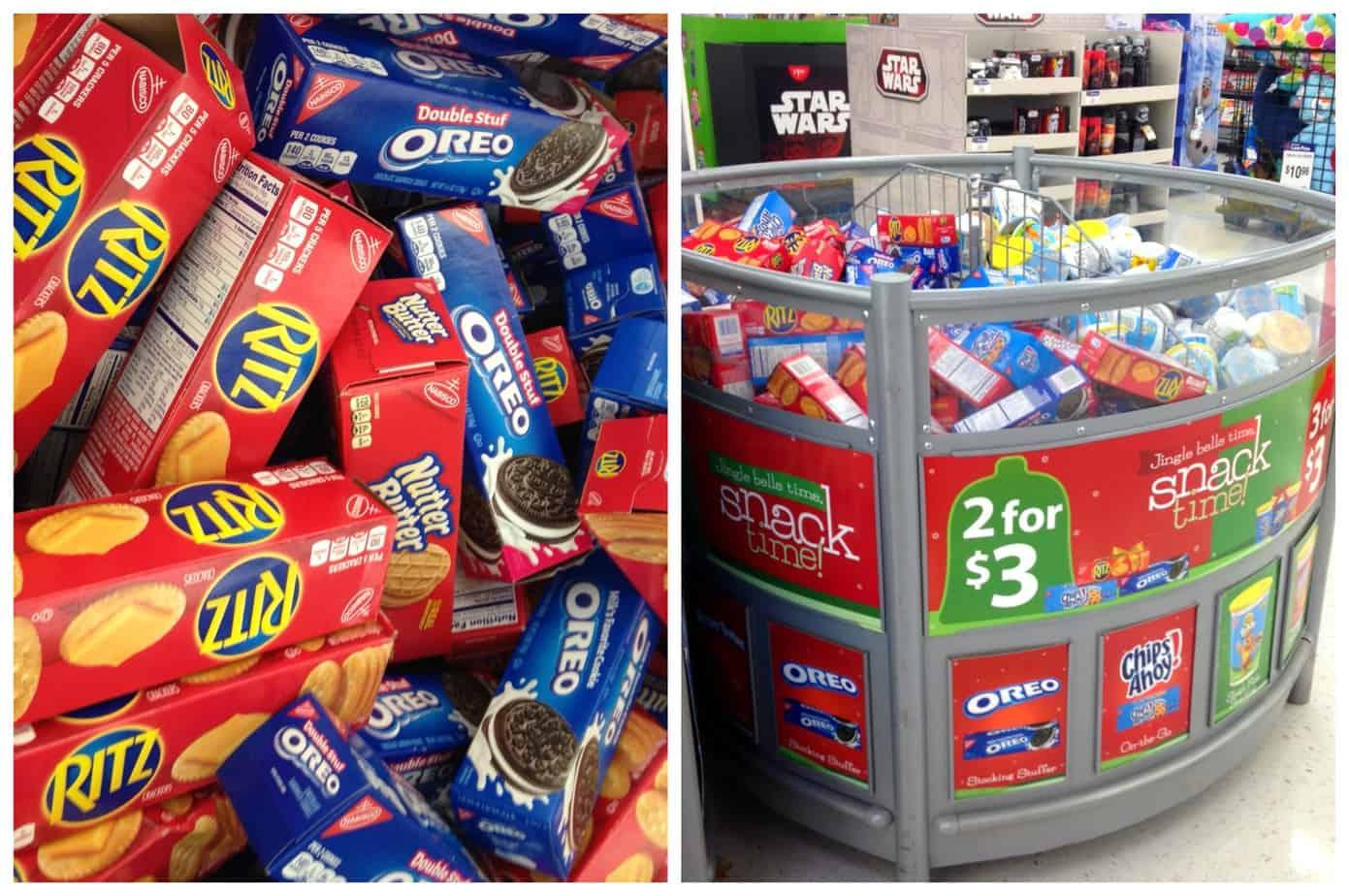 Cookie Snack Packs Walmart