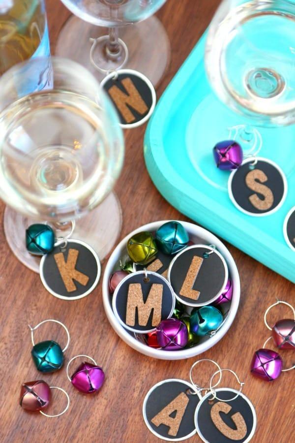 Handmade Wine Charms