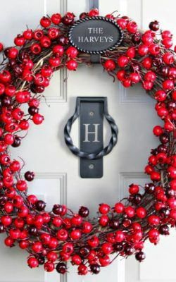 Holiday Berry Wreath