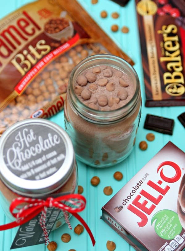 Hot Chocolate Mix in a Jar - Gift Idea