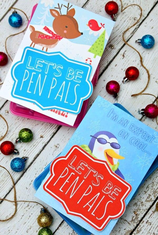 Let's Be Pen Pals Gift Idea