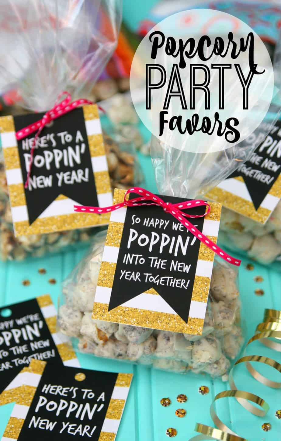 Popcorn Party Favors - Happy-Go-Lucky