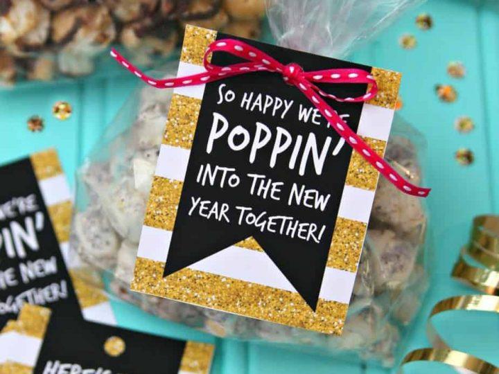 Popcorn Party Favor