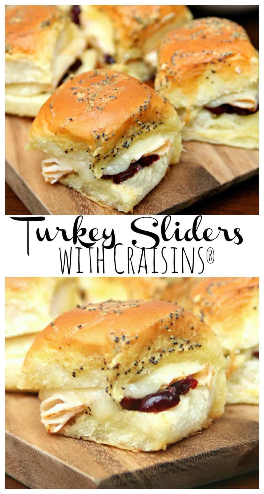 Turkey Sliders with Craisins