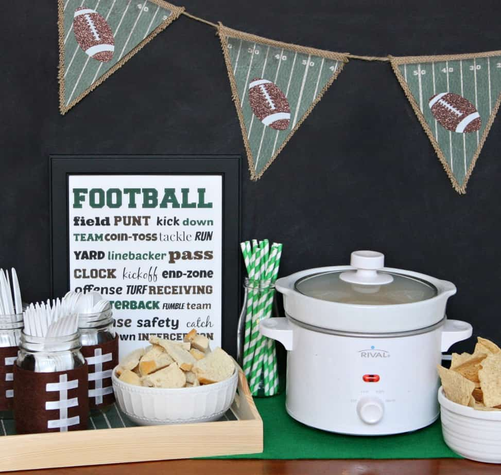 Football Tablescape
