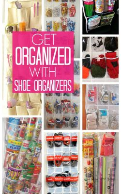 Get Organized with Shoe Organizers