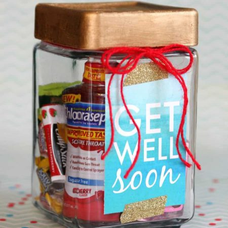 Get Well Soon Gift in a Jar