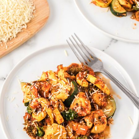 One Pan Meal - Tortellini Primavera