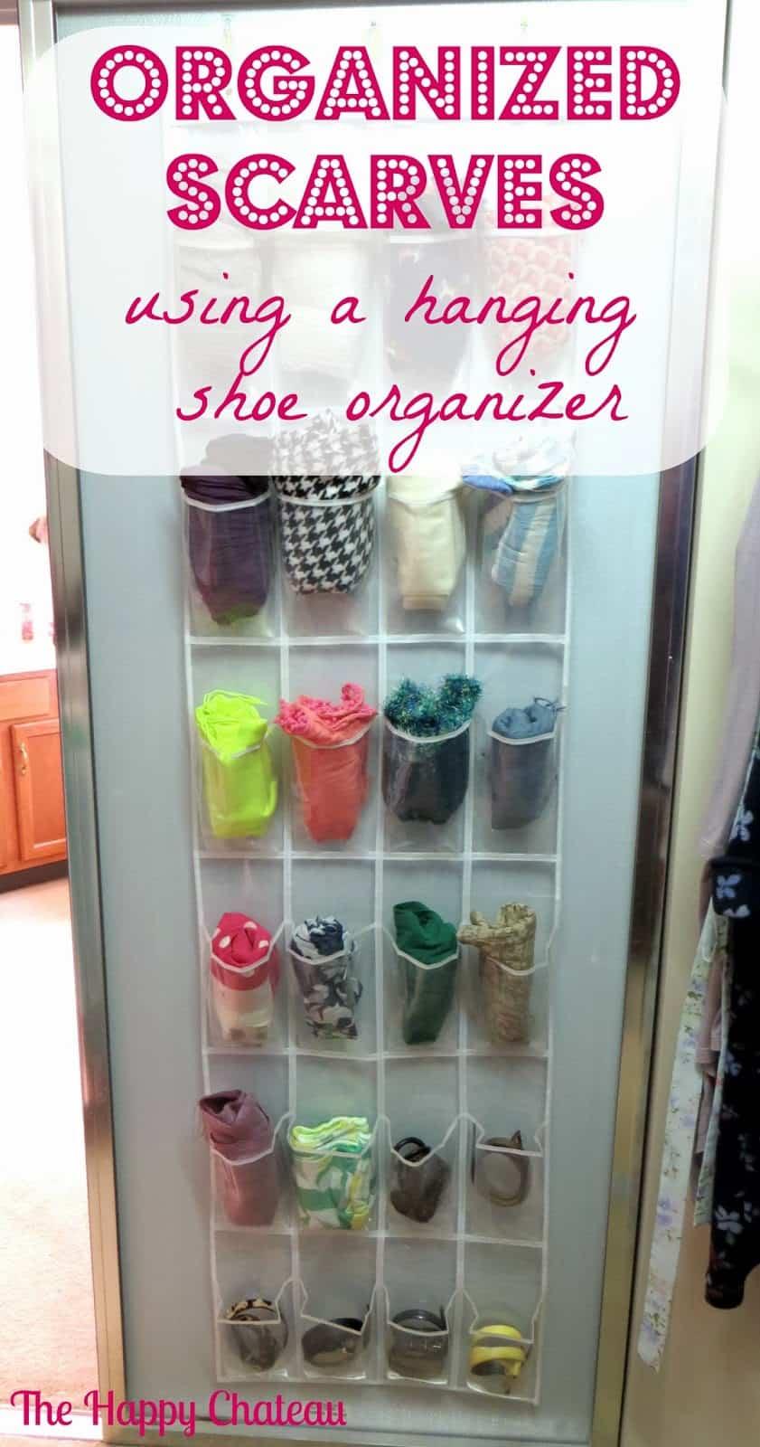 Get Organized with Over the Door Shoe Organizers