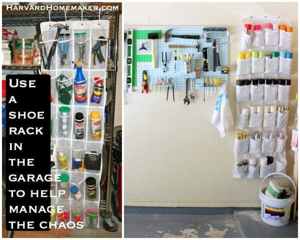 garage shoe organizer