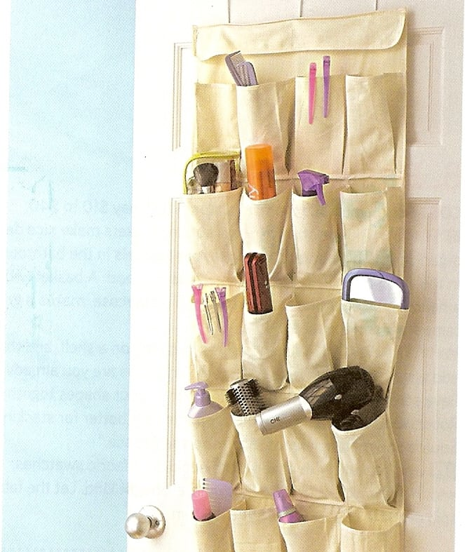 Get Organized With Over The Door Shoe Organizers