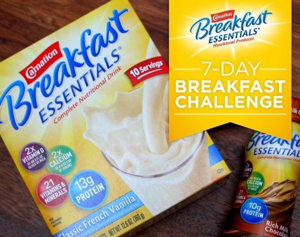 Carnation Breakfast Essentials 7 Day Breakfast Challenge