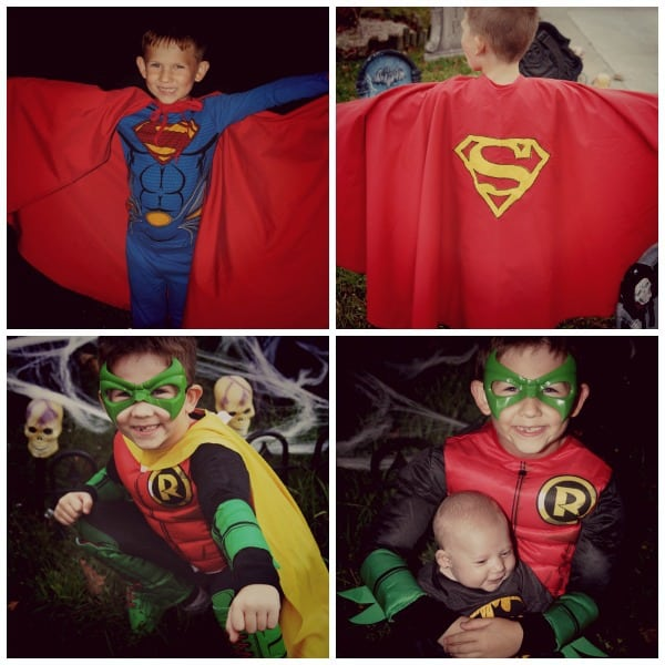 Connor Super Hero Halloween Pics