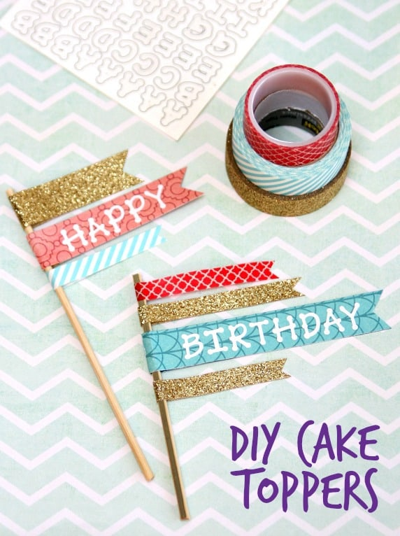 DIY Cake Toppers 2