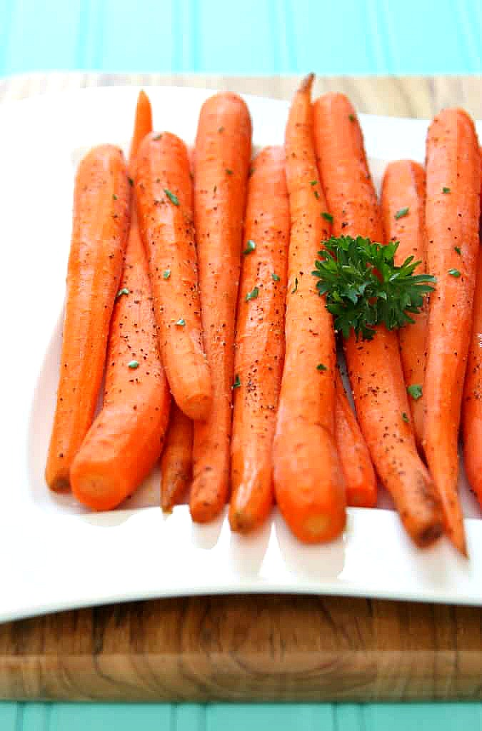 Honey Roasted Carrots The Perfect Easter Side Dish