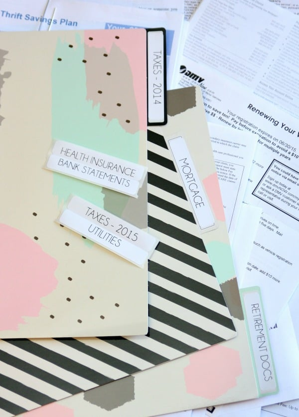 Organizing the Paper Clutter