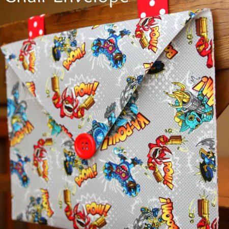 Skylander Chair Envelope