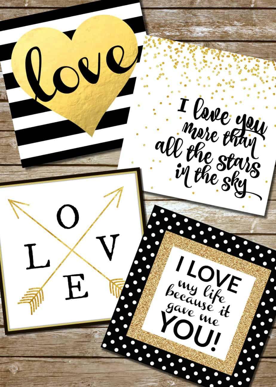 Free Love Printables