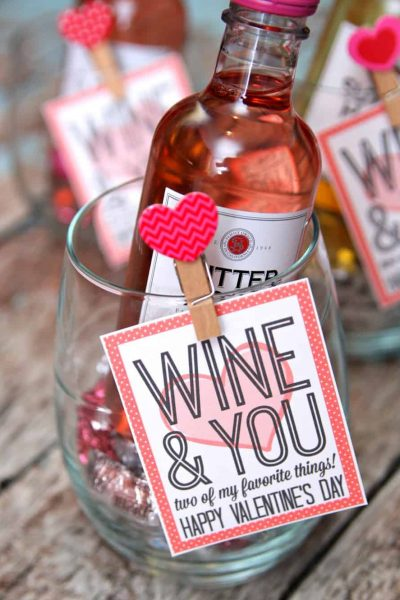 Wine and You Galentine Gift Idea