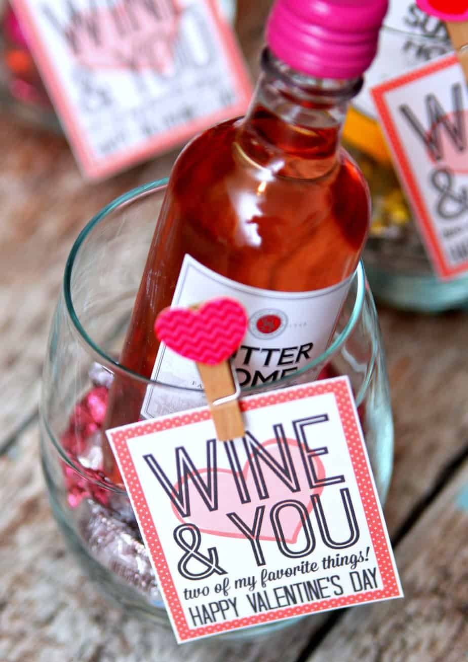Wine and You Valentine's Day Gift