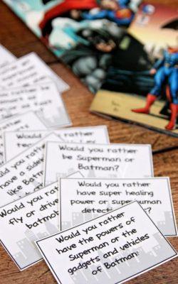Would you rather... Superman Batman