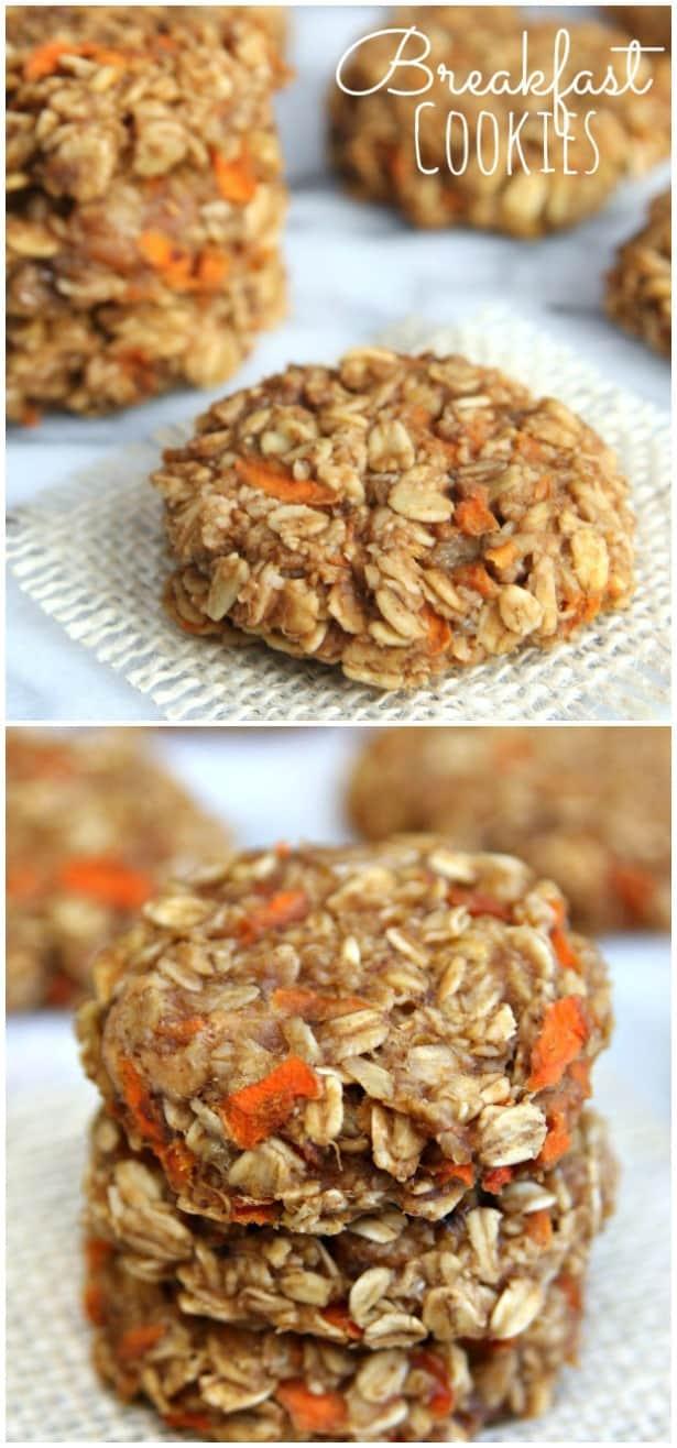 Breakfast Cookies Collage