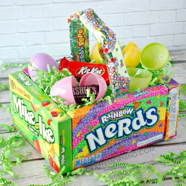 Creative easter basket ideas no basket needed happy go lucky candy easter basket negle Image collections