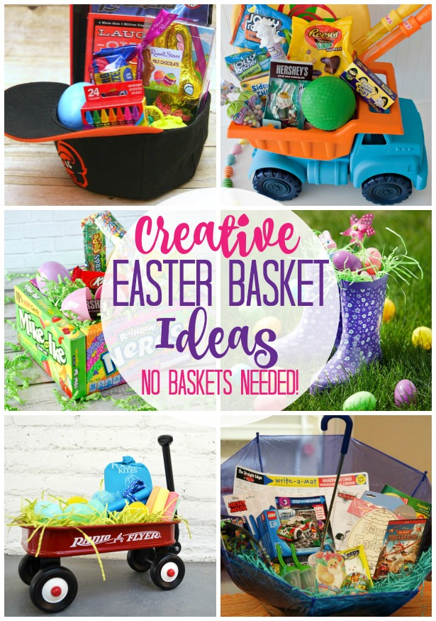 Creative easter basket ideas no basket needed happy go lucky creative easter basket ideas negle Gallery