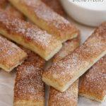 Easy Cinnamon Breadsticks