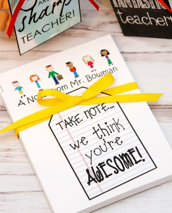 Expressionery Notepad for Teacher