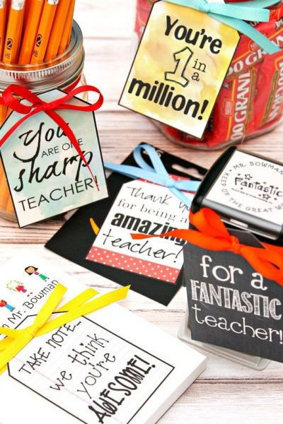 Teacher Appreciation Gifts - 5 Gift Ideas