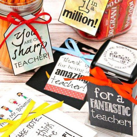 Teacher Appreciation Gifts - 5 Gift Ideas