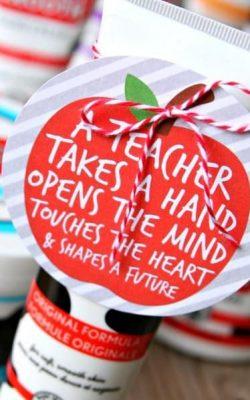 Teacher Gift Idea - Udderly Smooth