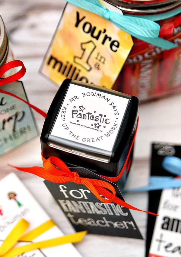Teacher Gift - Personalized Stamp