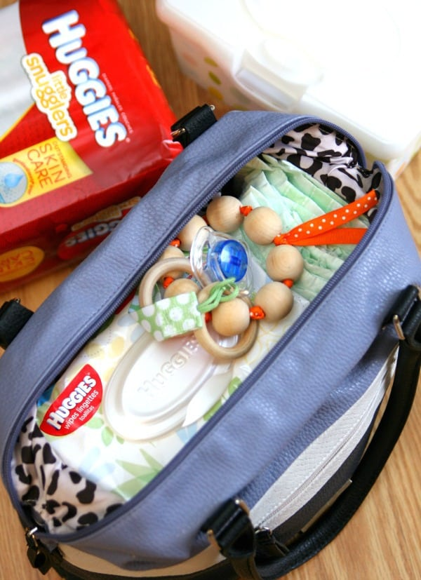 Traveling with a Baby - Diaper Bag
