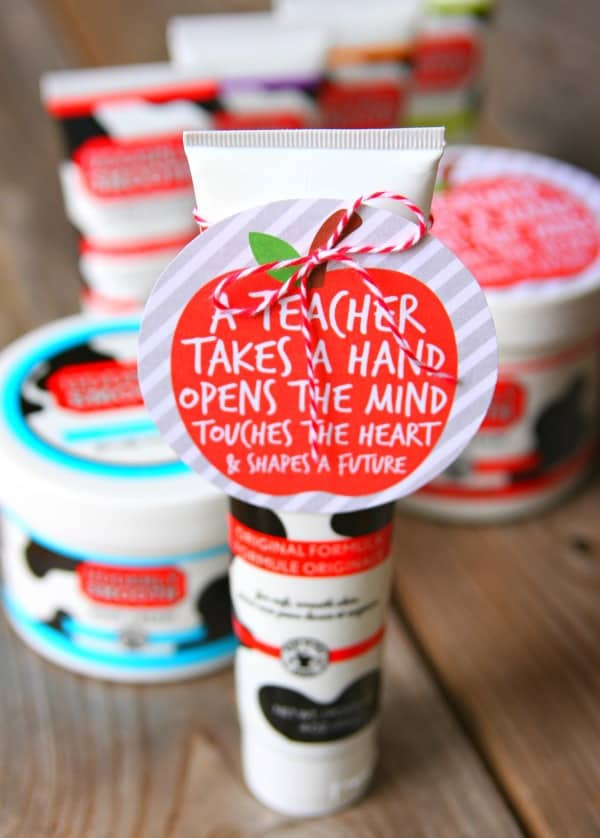 Udderly Smooth Teacher Appreciation Gift Idea