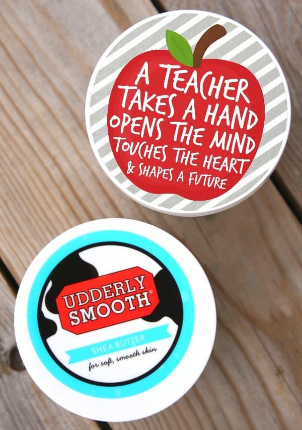 Udderly Smooth Teacher Gift 2