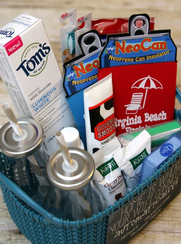 House Guest Gift Basket