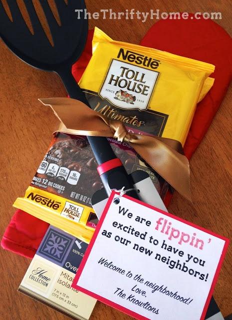 Flippin' cute housewarming gift!