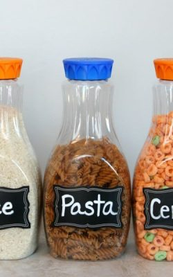 Upcycled Plastic Containers