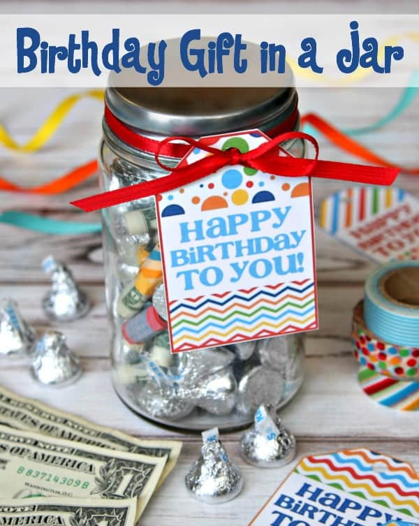 Birthday Gift in a Jar