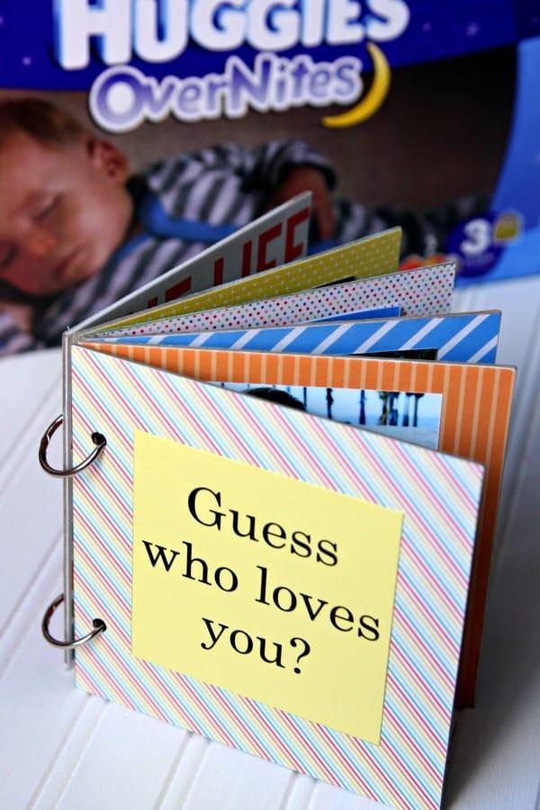DIY Board Book #EveryoneSleeps #HuggiesOverNites