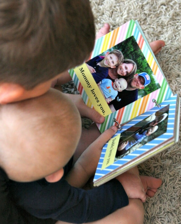 Guess who loves you? DIY Baby Board Book