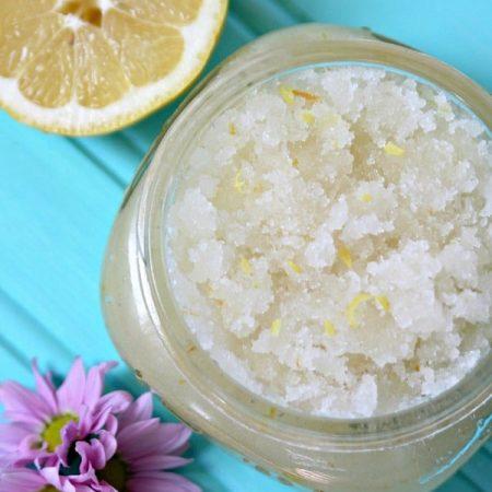 Honey Lemon Sugar Scrub